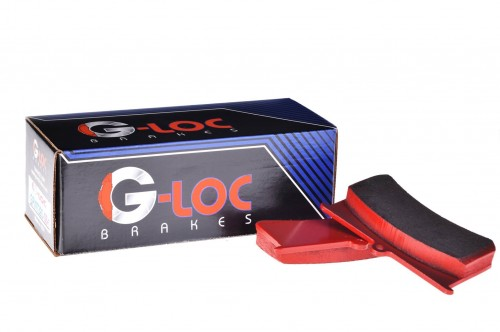 G-LOC Brakes - G-Loc GS-1 - GP1001 - Subaru WRX STI / Subaru BRZ Performance Package / Toyota 86 High PP - Brembo Caliper - Front Pads