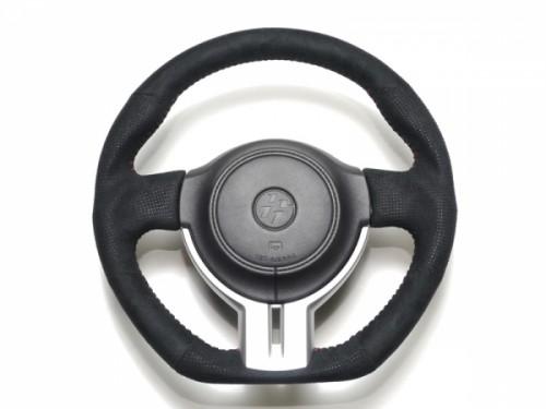 Cusco - Sport Steering Wheel - Leather - 350mm - BRZ / FRS / GT86 - 965 763 A