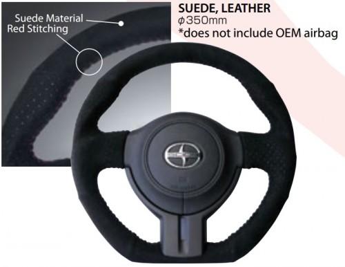 Cusco - Sport Steering Wheel - Suede - 350mm - BRZ / FRS / GT86 - 965 763 AS