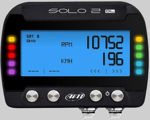 AiM Sports - Solo 2 DL - GPS Lap Timer / Datalogger - ECU Connection