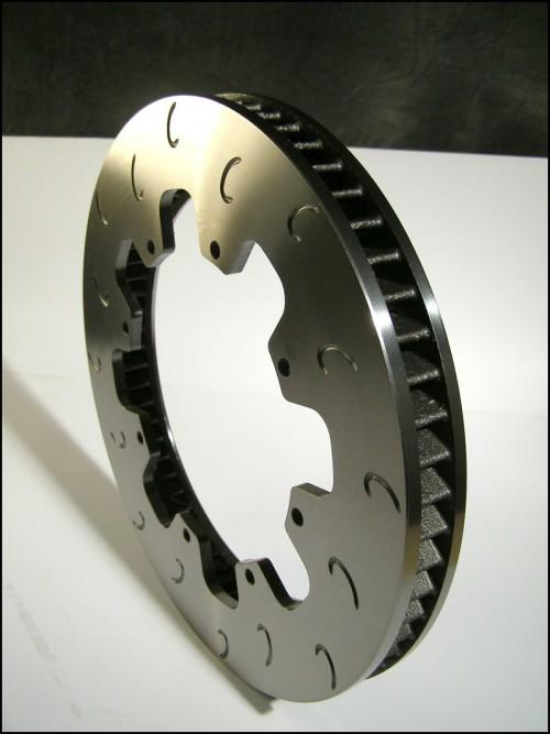 "AP Racing CP3862 11.75"" x1.25"" (299mm x 32mm) Heavy Duty, 60 Vane, J Hook Racing Brake Disc  (Right)"