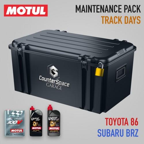 Motul Oil Package - Engine / Transmission / LSD - Subaru BRZ / Toyota 86 / Scion FR-S (Track Days)