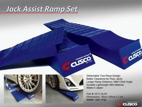 Cusco Jack Assist Ramp Set
