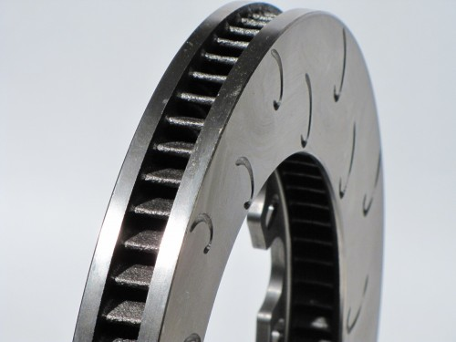"AP Racing CP3908 12.81"" x1.25"" (325mm x 32mm) Heavy Duty, 70 Vane, J Hook Racing Brake Disc (Left)"