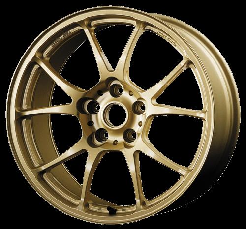 TWS Motorsport T66-F - 18x9.5J +45 / 5x100 - 56.1mm Bore - Flat Gold