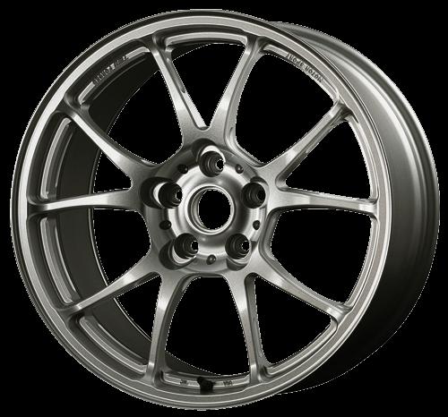 TWS Motorsport T66-F - 18x8.0J +44 / 5x100 - 56.1mm Bore - Gloss Gunmetal