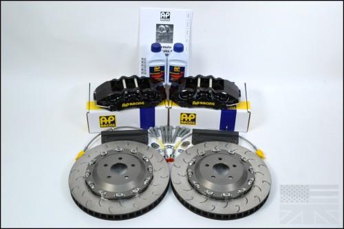 Essex AP Racing Formula Brake Kit (Black) - Six-Piston - Subaru BRZ / Scion FR-S / Toyota GT86