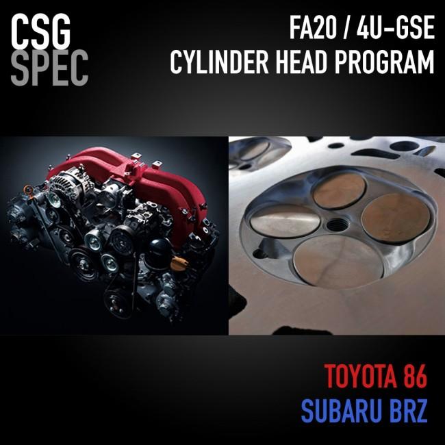 2015 Scion Fr S Transmission: 2015+ FA20 / 4U-GSE Cylinder Head Program