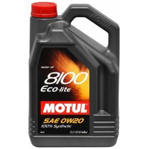 Motul 8100 ECO-LITE - 0W20 - 5 Liter