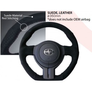 Cusco - Sport Steering Wheel - Suede - 350mm - BRZ / FRS / GT86 - 965 763 AS