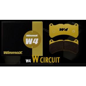 Winmax W4 Front Brake Pads - Subaru BRZ  Brembo PP / Honda Civic Type-R FK8 / WRX STI / Mitsubishi Evolution