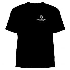 CounterSpace Garage - Black T-Shirt