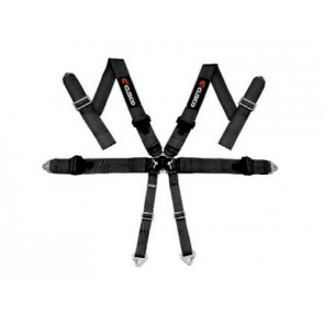 Cusco - 6 Point Racing Harness - Black