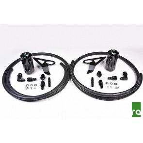 Radium Engineering - Dual Catch Can Kit - 20-0103 - Subaru BRZ / Scion FRS / Toyota GT86