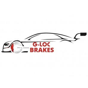 G-LOC Brakes - G-Loc R8 - GP537 - Honda S2000 / Acura RSX-S / Honda Civic Si / Honda CRZ / Acura Integra Type-R - Rear Pads