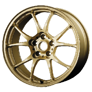 "TWS Forged Motorsport T66-F (18"" Flat Gold wheel shown)"