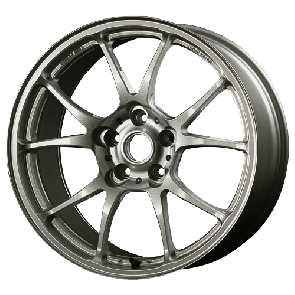 TWS Motorsport T66-F - 18x9.5J +40 / 5x114.3 - 73.1mm Bore - Gloss Gunmetal