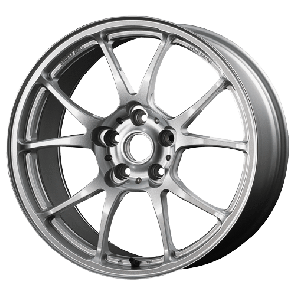 TWS Motorsport T66-F - 18x9.5J +40 / 5x114.3 - 73.1mm Bore - Gloss Silver