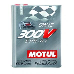 "Motul 300V ""SPRINT"" 0W15 - 2 Liter Tin"