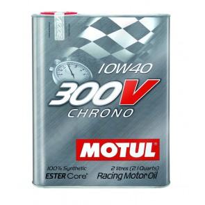 "Motul 300V ""CHRONO"" 10W40 - 2 Liter Tin"