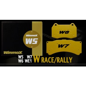 Winmax - W5 - Racing Brake Pads - Front / Rear & Brake Fluid Combo Brake Pad Package - Subaru BRZ / Scion FR-S / Toyota GT86