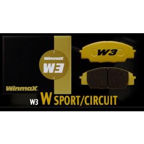 Winmax W3 Rear Brake Pads - Subaru BRZ Performance Package / WRX STi / Mitsubishi Evolution 8 / 9