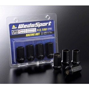 WedsSport Competition Lug Nuts - Steel Type - Open End - M12x1.25 - 4pc / Set