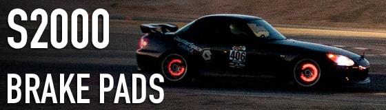 Honda S2000 brake pads