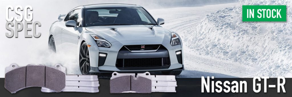 Nissan GTR R35 track day brake pads