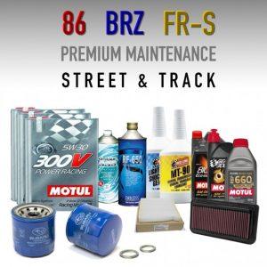 CSG Toyota 86 / Subaru BRZ maintenance package oils brake fluid air filter
